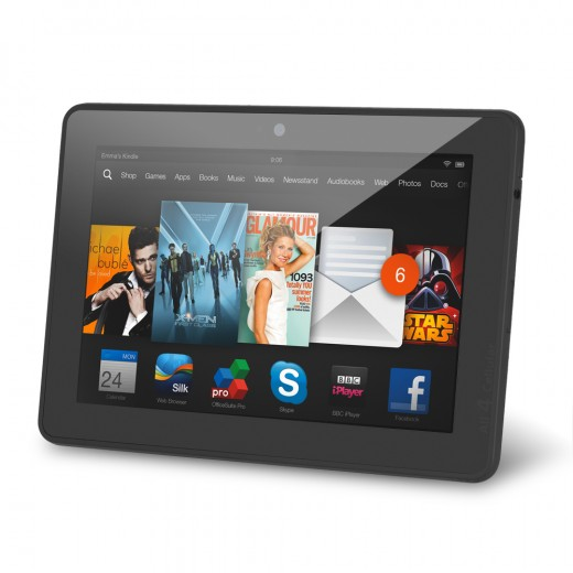 Sell my Sell Amazon Kindle Fire HDX 7 Wifi+3G